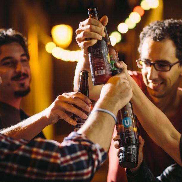 Una ronda de cerveza ecológica