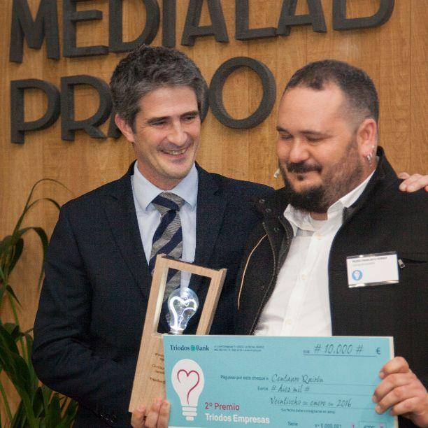 Centauro Quirón gana el 2º Premio Triodos Empresas